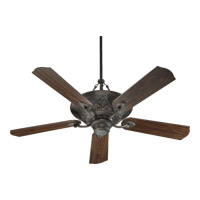 Quorum International Salon 3 Light Ceiling Fan in Oiled Bronze 83565-86