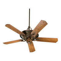Quorum 83565-88 Salon 56 inch Corsican Gold with Dark Oak Blades Ceiling Fan