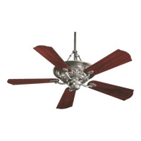 Salon 56 inch Antique Silver with Rosewood Blades Ceiling Fan