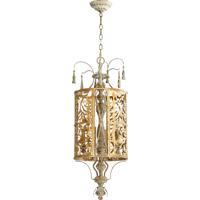 Quorum 8357-4-61 Leduc 4 Light 13 inch Florentine Gold Pendant Ceiling Light
