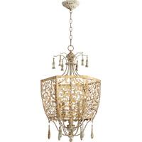 Leduc 5 Light 18 inch Florentine Gold Pendant Ceiling Light