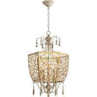 Quorum 8358-5-61 Leduc 5 Light 18 inch Florentine Gold Pendant Ceiling Light
