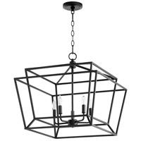 Quorum 8407-5-69 Monument 5 Light 21 inch Noir Nook Ceiling Light