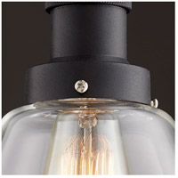 Quorum 878-169 Signature 1 Light 6 inch Noir Mini Pendant Ceiling Light alternative photo thumbnail