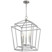Quorum 8807-5-64 Monument 5 Light 18 inch Classic Nickel Foyer Pendant Ceiling Light