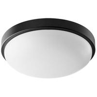 Quorum 902-11-69 Signature 1 Light 12 inch Noir Flush Mount Ceiling Light Quorum Home