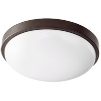 Quorum 902-11-86 Signature LED 12 inch Oiled Bronze Flush Mount Ceiling Light Round