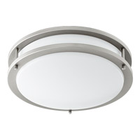 Quorum 903-12-65 Signature LED 12 inch Satin Nickel Flush Mount Ceiling Light