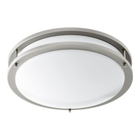 Signature LED 15 inch Satin Nickel Flush Mount Ceiling Light