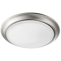 Quorum 905-10-65 Energy Saving 1 Light 10 inch Satin Nickel Ceiling Mount Ceiling Light