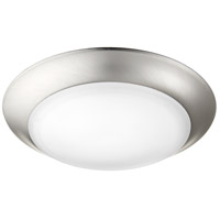 Quorum Energy Saving 1 Light 8 inch Satin Nickel Ceiling Mount Ceiling Light