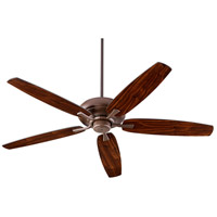 Quorum 90565-86 Apex 56 inch Oiled Bronze with Oiled Bronze/Walnut Blades Indoor Ceiling Fan