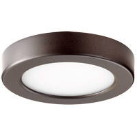 Quorum 906-5-86 Signature LED 6 inch Oiled Bronze Flush Mount Ceiling Light Round