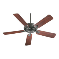 Quorum 91525-95 Pinnacle 52 inch Old World with Rosewood Blades Ceiling Fan