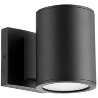 Quorum 920-2-69 Cylinder LED 6 inch Noir Outdoor Wall Mount