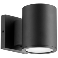 Quorum 920-69 Cylinder LED 5 inch Noir Outdoor Wall Mount