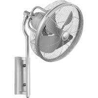 Quorum International Veranda Outdoor Ceiling Fan in Satin Nickel 92413-65