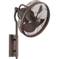 Quorum International Veranda Outdoor Ceiling Fan in Oiled Bronze 92413-86