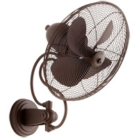 Piazza 22 inch Oiled Bronze Outdoor Wall Fan