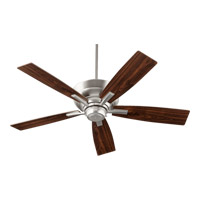 Quorum International Mercer 4 Light Ceiling Fan in Satin Nickel 94525-65