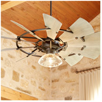 Quorum 95210 86 Windmill 52 Inch Oiled Bronze With