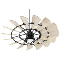 Quorum 96015-69 Windmill 60 inch Noir with Weathered Oak Blades Ceiling Fan alternative photo thumbnail