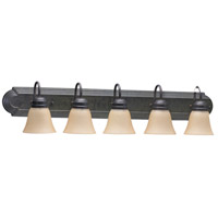 Quorum IBS-132 Fort Worth 6 Light 48 inch Toasted Sienna Vanity Light Wall Light