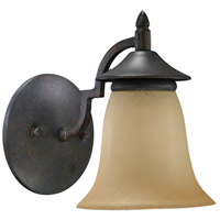 Quorum IBS-141 Coventry 1 Light 5 inch Toasted Sienna Wall Sconce Wall Light