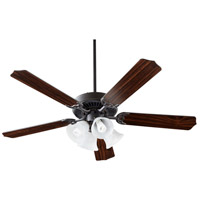 Quorum IBS-175 Capri 52 inch Old World with Old World/Walnut Blades Ceiling Fan Quorum Home Collection