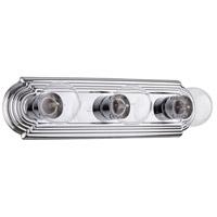 Quorum IBS-205 Fort Worth 3 Light 18 inch Chrome Vanity Light Wall Light