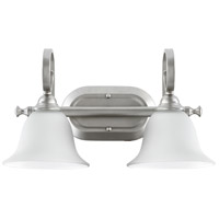Quorum IBS-235 Celesta 2 Light 17 inch Classic Nickel Vanity Light Wall Light