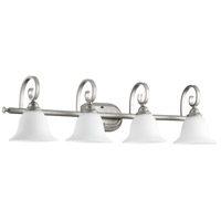 Quorum IBS-237 Celesta 4 Light 36 inch Classic Nickel Vanity Light Wall Light