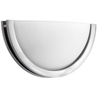 Quorum IBS-240 Fort Worth LED 12 inch Satin Nickel Wall Sconce Wall Light