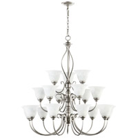 Quorum IBS-241 Spencer 18 Light 39 inch Classic Nickel Chandelier Ceiling Light