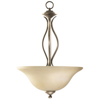 Quorum IBS-274 Fort Worth 3 Light 16 inch Mystic Silver Pendant Ceiling Light