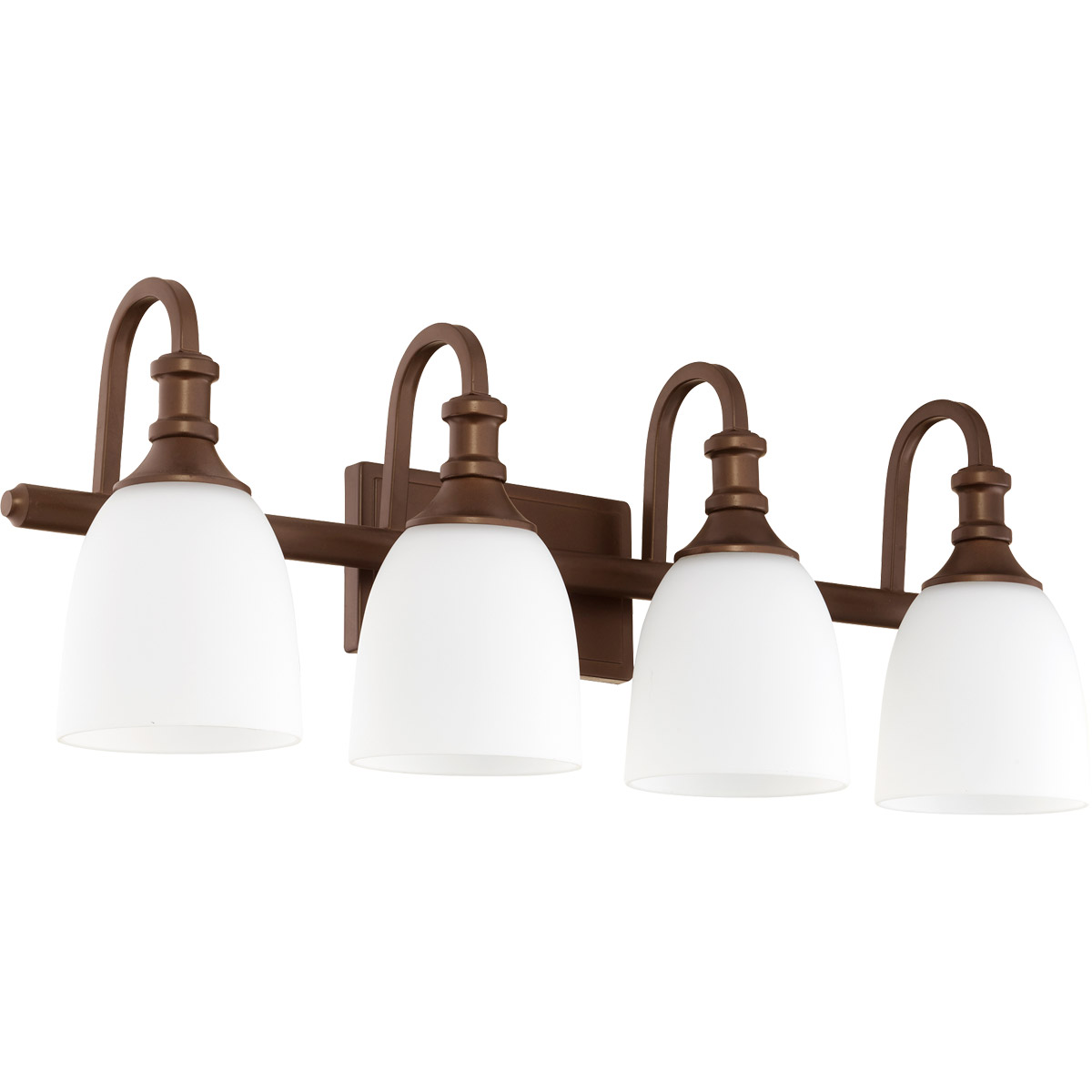 Quorum Bathroom Lighting quorum international 5011-4-86 richmond bathroom vanity lights