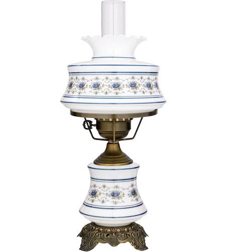 High Quality Quoizel AB701A Abigail Adams 20 Inch Antique Brass Hurricane Lamp Portable  Light