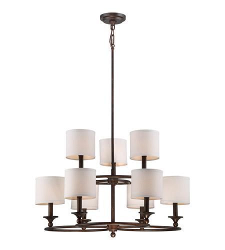 Quoizel Foyer Chandelier : Quoizel ada ln adams light inch leathered bronze