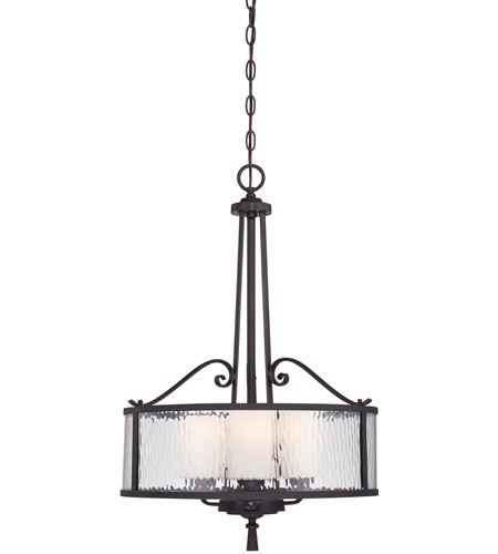 Quoizel ADS2818DC Adonis 3 Light 18 inch Dark Cherry Pendant Ceiling Light photo
