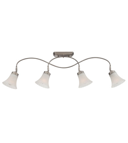 Quoizel Lighting Aliza 4 Light Ceiling Track Light in Antique Nickel ALZ1404AN photo