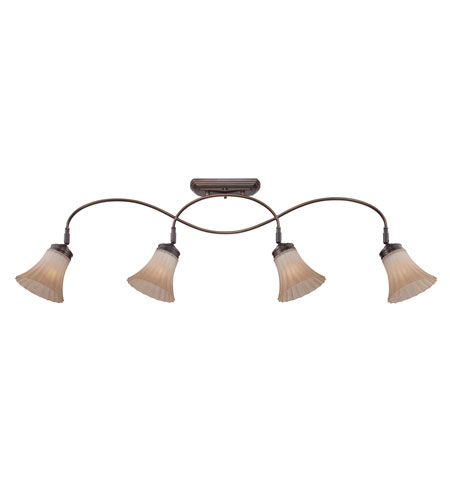 Quoizel Lighting Aliza 4 Light Ceiling Track Light in Palladian Bronze ALZ1404PN photo