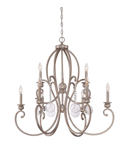 Quoizel Foyer Chandelier : Quoizel ambrose light foyer chandelier in vintage gold