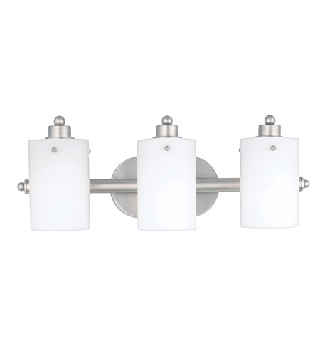 Quoizel Lighting Adano 3 Light Bath Vanity in Empire Silver AN8540ES photo