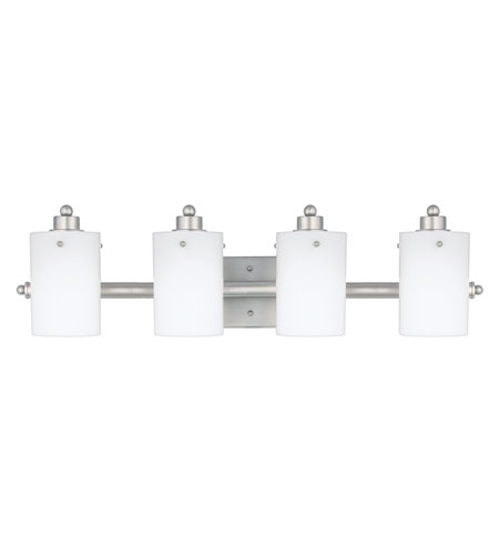 Quoizel AN8541ES Adano 4 Light 28 inch Empire Silver Bath Vanity Wall Light photo