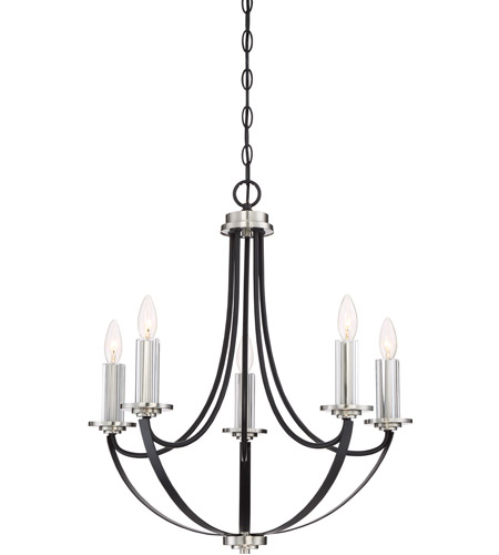 black chandelier lighting photo 5. Quoizel ANA5005K Alana 5 Light 23 Inch Mystic Black Chandelier Ceiling Photo Lighting