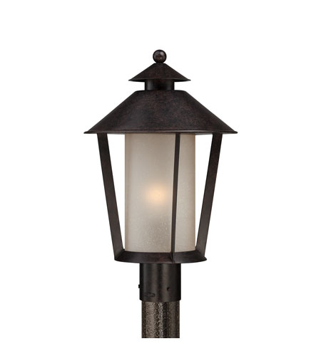 Quoizel Lighting Anderson 1 Light Outdoor Post Lantern in Kingsley AND9012KG photo