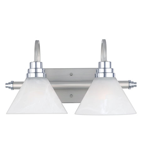 Quoizel Vanity Lights : Quoizel Lighting Astoria 2 Light Bath Vanity in Millenia AO8602MN