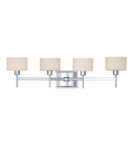 Quoizel Bathroom Sconces quoizel lighting asheton 4 light bath in polished chrome ast8604c
