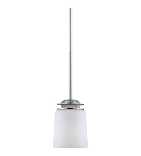 Quoizel Lighting Avery 1 Light Mini Pendant in Brushed Nickel AV1505BN photo
