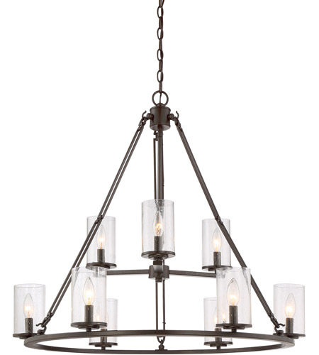 Quoizel bcn5009wt buchanan 9 light 33 inch western bronze foyer quoizel bcn5009wt buchanan 9 light 33 inch western bronze foyer chandelier ceiling light aloadofball Image collections